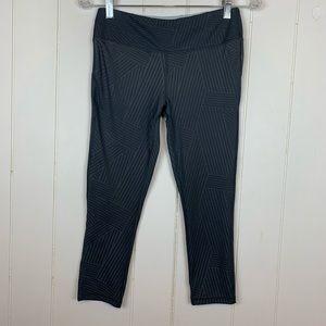 Marika Sport Capri Leggings Medium Gray
